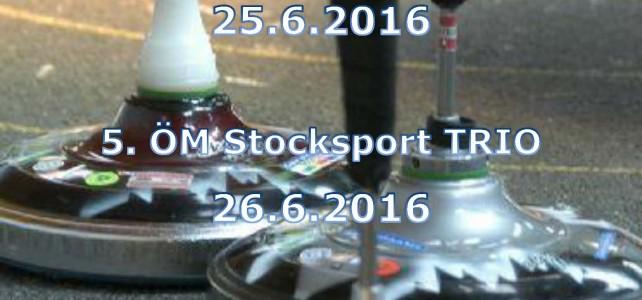 11. ÖM Stocksport Duo & 5. ÖM Stocksport Trio 2016