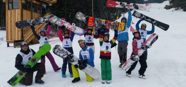 Ergebnisse & Fotos:  13. Österreichische Snowboard Meisterschaft