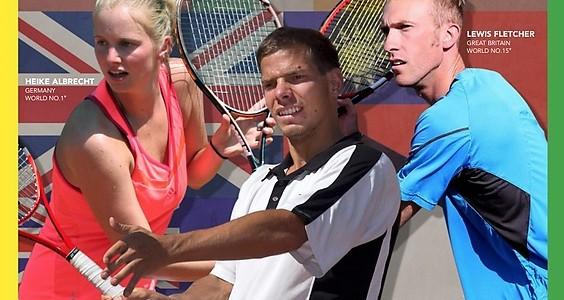 Silber für Gravogl/Kargl bei der 1. WM Tennis in Nottingham