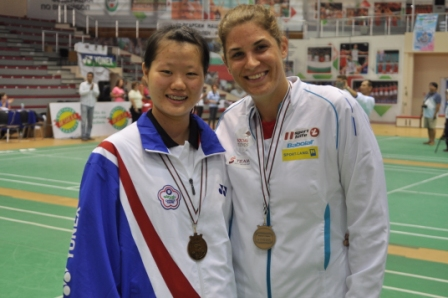 SILBER FÜR KATRIN NEUDOLT bei der 4. WM Badminton in Sofia