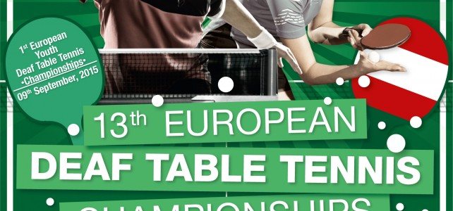 13. Tischtennis Europameisterschaft und 1. Tischtennis Jugend Europameisterschaft in Baden