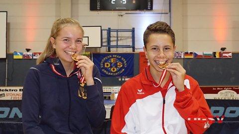 Gold für Lukas Krämer bei der Jugend EM