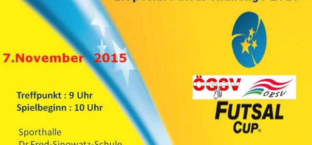 1.Special Futsal Challenge 2015 – Futsal Cup