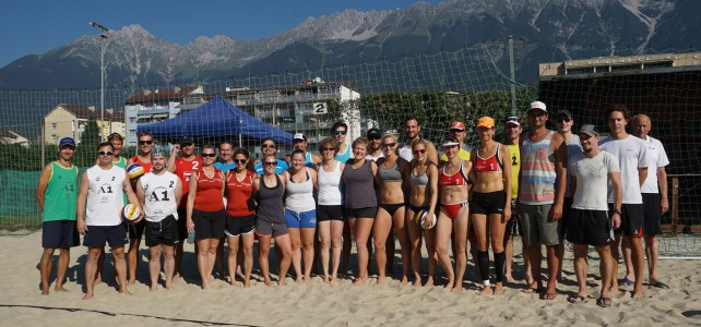 14. ÖSTM Beach Volleyball in Innsbruck