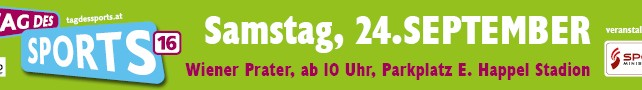 Tag des Sports 2016 am 24. September 2016