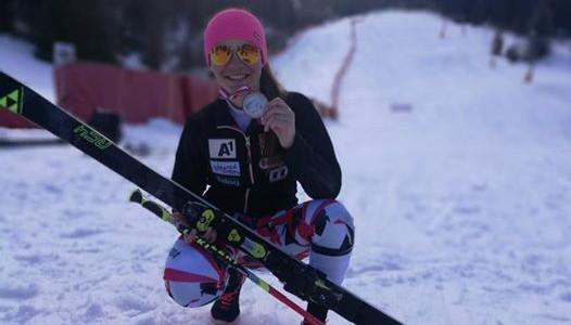 Riesentorlauf – endlich eine Medaille für die Damen!