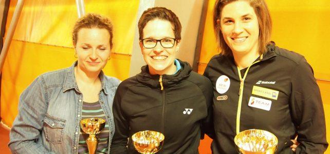 Katrin Neudolt meldet sich mit einem Turniersieg zurück
