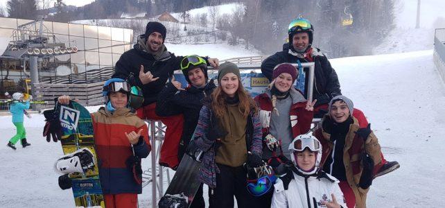 Update Fotos: Snowboard Probetraining am 3.12.2017 in Schladming