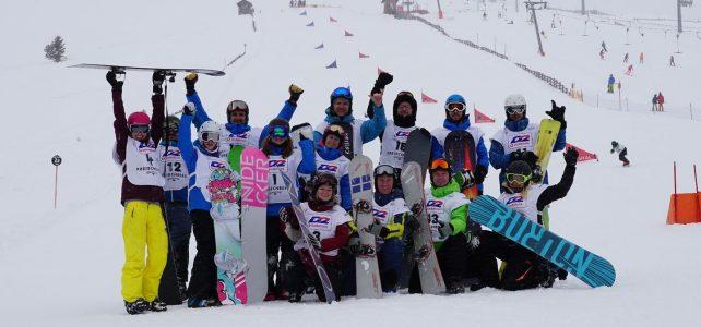 15. ÖM Snowboard in Lachtal am 3.2.2018