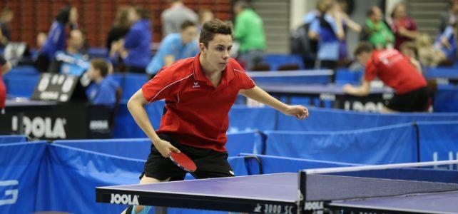 Tischtennis: Krämer Lukas spielt ein tolles Turnier mit den besten Spielern Österreichs