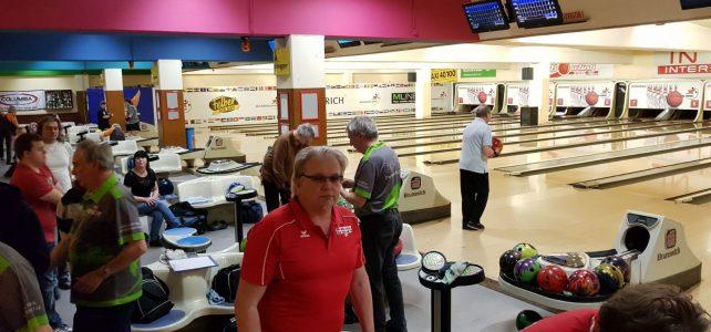 Bowling Vergleichskampf – ein voller Erfolg