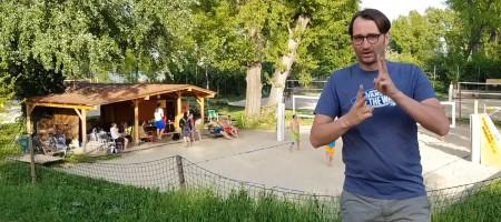 16. ÖSTM Beachvolleyball am 23. Juni 2018 in Wien