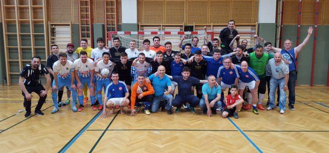 ÖM Futsal am 21. April 2018 in Wr. Neustadt
