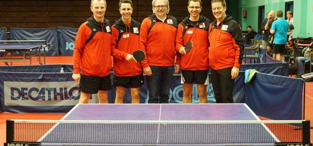 Int. Tischtennis Turnier in Budapest