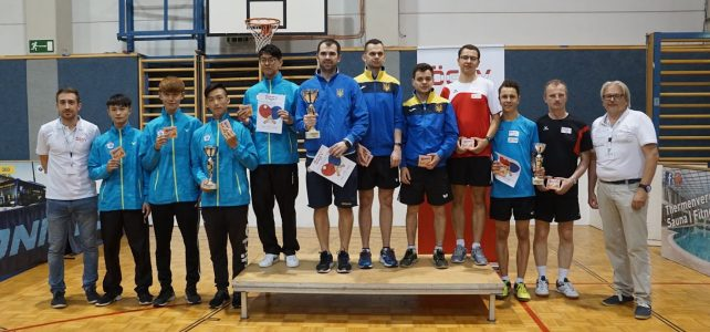 Internationales Tischtennis Turnier in Baden 7.-9. Juni 2018