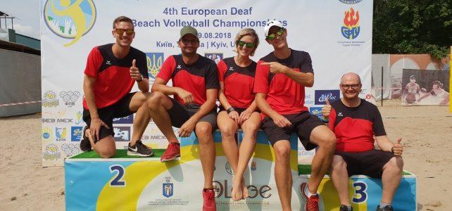 9. Platz für unsere Beachvolleyballer bei der EM Beachvolleyball in Kiev/Ukraine