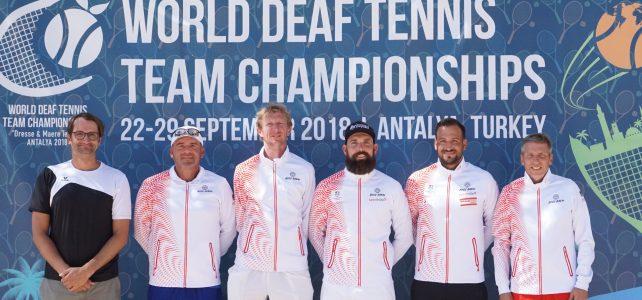5. Platz für unser Team bei der Tennis Weltmeisterschaft in Antalya