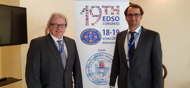 Bericht vom 19. EDSO Kongress in Kreta