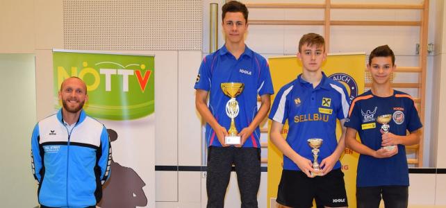 Luki (Krämer Lukas) ist u18-Tischtennis-Landesmeister von Niederösterreich!