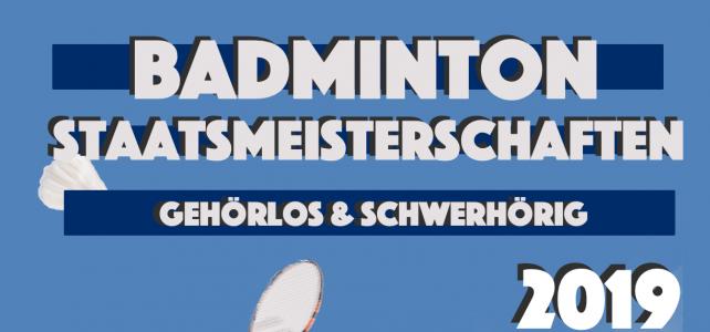 22. ÖSTM Badminton am 4.5.2019 in Vorchdorf/OÖ