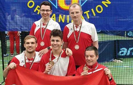 Österreich holt sich die Bronzemedaille im Mannschaftsbewerb