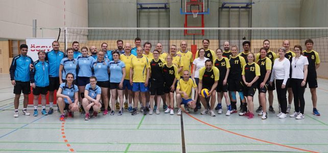 28. ÖSTM Volleyball Mannschaft und ÖM Mixed am 6. April 2019 in Perchtoldsdorf