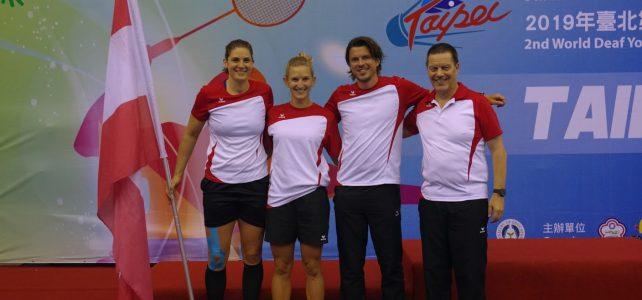 Badminton WM in Taipei – Katrin Neudolt ist Vizeweltmeisterin 2019!