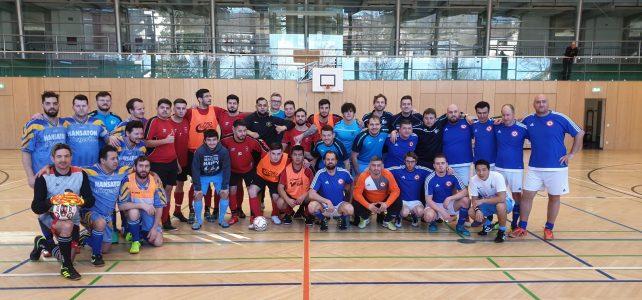 17. ÖM Futsal-Meisterschaft in Koblach (Vorarlberg) – Hinspiel