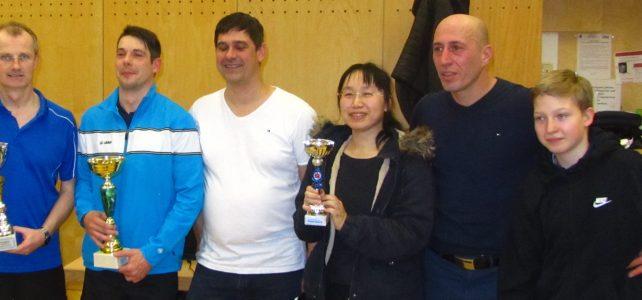 Tischtennis: Erwin Stürmer mit guter Vorbereitung auf die Heim-WM im Juni 2020