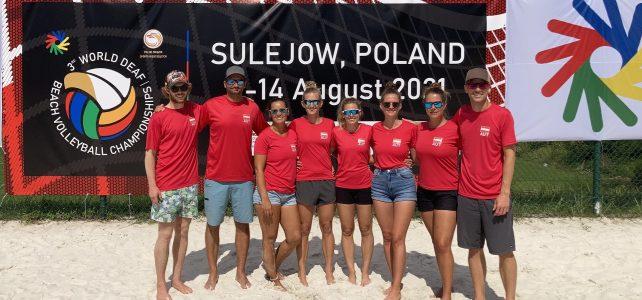 WM Beachvolleyball 08.-14.08.2021 in Sulejow (Polen)