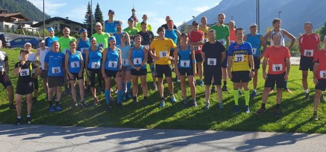 14. ÖM Berglauf in Neustift/Stubai am 07. August 2021